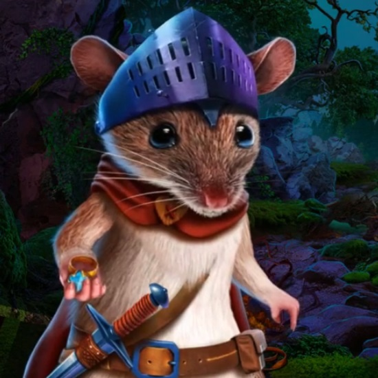 Mouse in Enchanted Kingdoms: Arcadian Backwoods